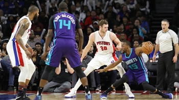 Hornets LIVE To GO: Hornets once again blow big fourth quarter lead in loss to Pistons