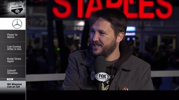 Kings Live: Wil Wheaton on set talking goalies and more