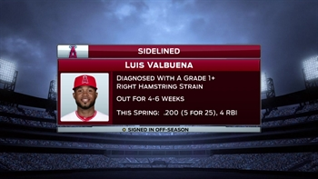 Spring Training Minute:  Hamstring troubles for Valbuena