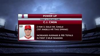 Spring Training Minute: (2/28) CJ Cron's blast vs. Cubs