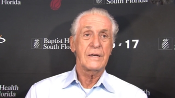 Pat Riley: Miami Heat trade deadline press conference Part 1