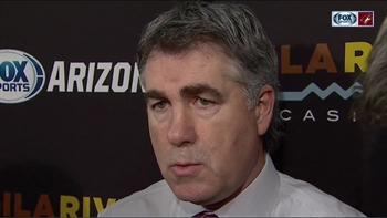 Tippett: Coyotes couldn't win puck battles