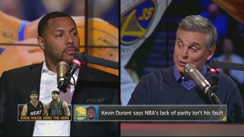 Eddie House talks Kevin Durant, parity in the NBA, 2017 NBA Finals and more | THE HERD