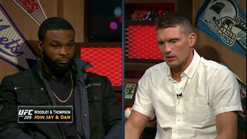 Tyron Woodley and Stephen 'Wonderboy' Thompson join Jay and Dan | FOX SPORTS LIVE
