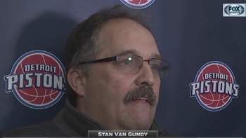 Stan Van Gundy shares his philosophy on dealing with the trade deadline