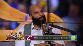 Carlos Boozer talks Curry and Durant going into 2017 Finals, 18-year-old LeBron | THE HERD