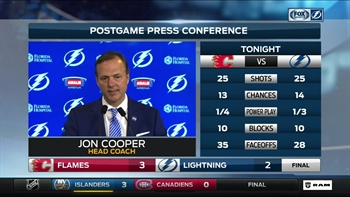 Jon Cooper: We didn't do any of the things that make us successful