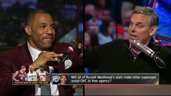 Kenyon Martin in studio to talk Westbrook, Deron and Cousins | THE HERD (FULL INTERVIEW)