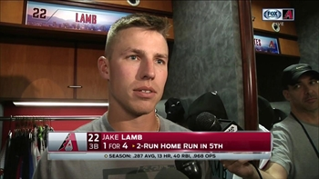 Jake Lamb: I'm happy with where I'm at