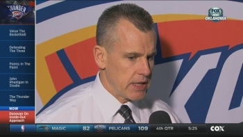 Billy Donovan on facing the Warriors