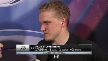 Jakob Silfverberg picks up empty-net goal against Winnipeg