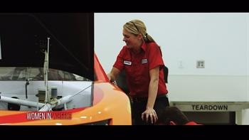 Women in Wheels: Ashley Parlett | NASCAR RACE HUB