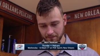 Donatas Motiejunas on 124-122 win over Cavaliers