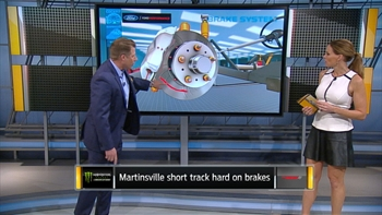 Breaking Down Brakes at Martinsville | NASCAR RACE HUB