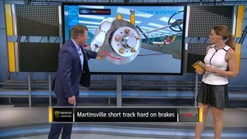 Breaking Down Brakes at Martinsville | NASCAR RACE HUB