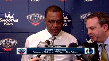 Alvin Gentry talks turnovers in loss to Rockets