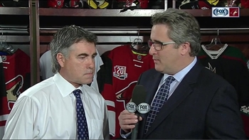 Tippett pleased with Coyotes result