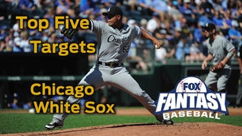 Fantasy Baseball Draft Advice: top five Chicago White Sox