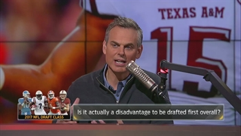 It's a disadvantage to be drafted #1 overall in the 2017 NFL Draft | THE HERD