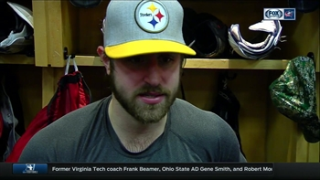 Brandon Dubinsky explains why he's wearing a Steelers hat