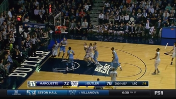 Game Highlights: Butler Bulldogs - Marquette Golden Eagles