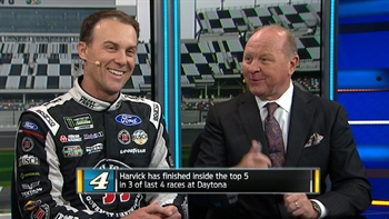 Kevin Harvick Interview at Daytona Media Day | NASCAR RACE HUB