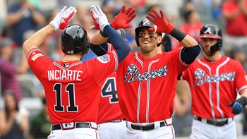 Watch Braves rookie Rio Ruiz smash the first home run of his career off Max Scherzer