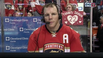 Shawn Thornton says retirement is starting to 'sink in'