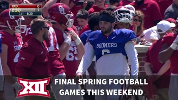 Big 12 football update: Spring games