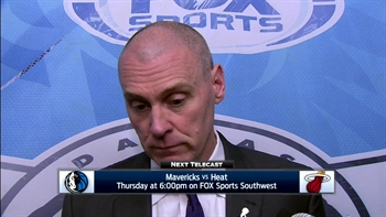 Rick Carlisle on flow of game, win over Bulls