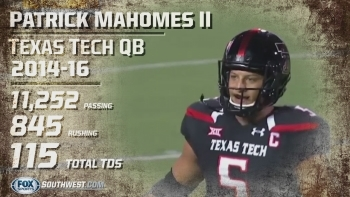 NFL Draft Profile: Texas Tech QB Patrick Mahomes II