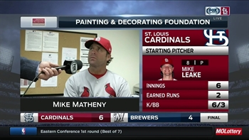 Matheny on ejection: 'Apparently, I said something he didn't like'