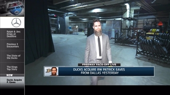 Freeway Faceoff Live: Ducks make move for forward Patrick Eaves