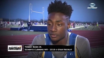 High School Spotlight: Schertz Clemens' star WR Tommy Bush Jr.