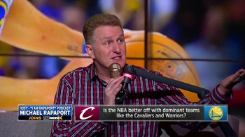 Michael Rapaport on Cavaliers/Warriors, McGregor/Mayweather and more | THE HERD
