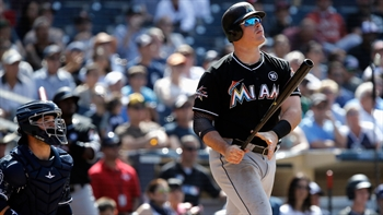WATCH: Justin Bour caps Marlins' rally with big 3-run HR