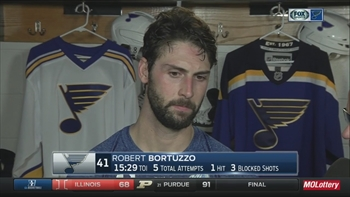 Bortuzzo: Blues 'did some good things but ultimately not enough to win'