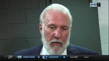 Gregg Popovich on Spurs win against Minnesota