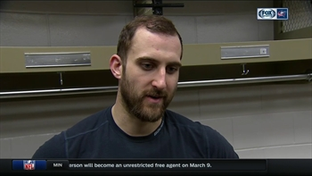 Nick Foligno feels the Blue Jackets deserved two points after OT loss to Habs