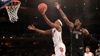St. John's tops Georgetown at Madison Square Garden