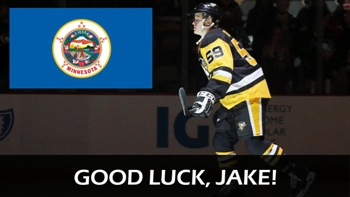 Minnesota's own Jake Guentzel pursues first Stanley Cup