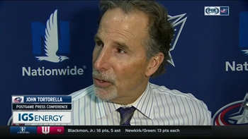 Torts confident in Blue Jackets after hard-fought game: 'We're on the right road'