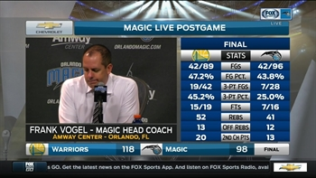 Frank Vogel: 'I think we settled too much'