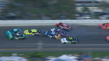 The Big One Strikes Again at Daytona | 2017 NASCAR XFINITY | NASCAR ON FOX