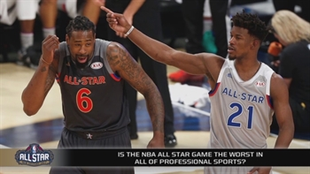 The NBA All-Star Game proved itself to be the worst in all of sports
