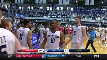 Game Highlights: Butler Bulldogs - DePaul Blue Demons