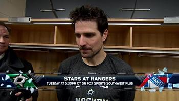 Patrick Sharp talks tough loss to Sabres