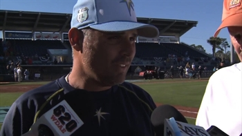 Kevin Cash on pitchers getting plenty of work in Saturday