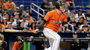 WATCH: Justin Bour drives in Marlins' first 6 runs of the game