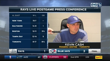 Kevin Cash says Archer gave team a chance to win